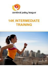 14k Intermediate Training Plan
