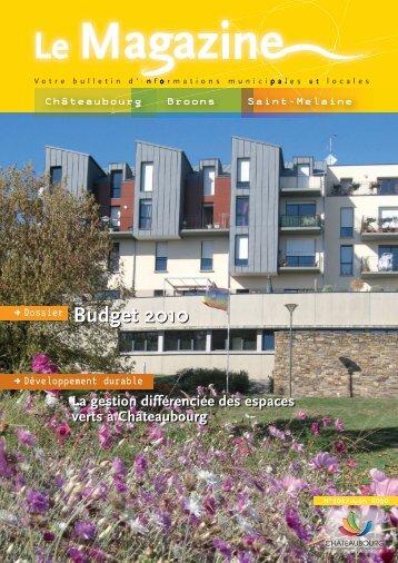 Le magazine de juin 2010 - Chateaubourg
