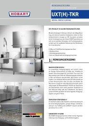 UXT(H)-TKR - HOBART GmbH