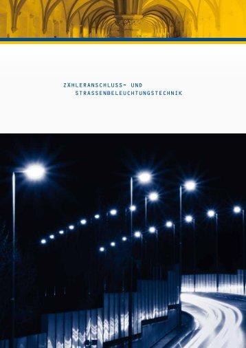 Zähleranschluss- und Strassenbeleuchtungstechnik ... - Jean Müller