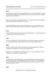 Publikationen Prof. Dr. phil. Gabriele Hanne-Behnke ...