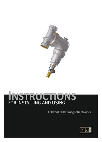 Ecovent Duco magnetic strainer installation - Brands of Watford