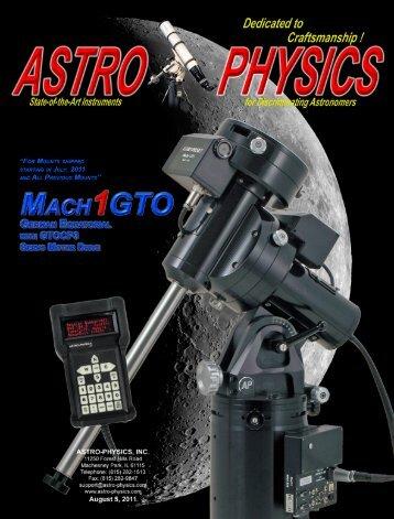 Mach1GTO Manual - Astro-Physics