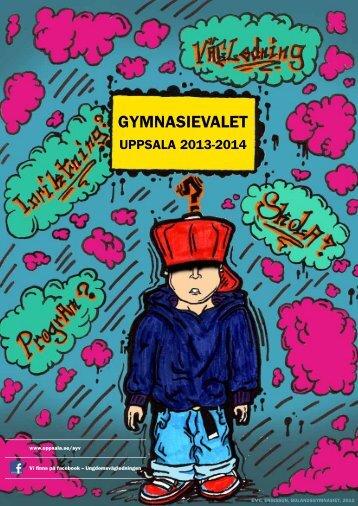 Gymnasievalet - Uppsala kommun