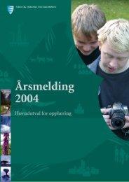 Årsmelding 2004 - Sogn og Fjordane fylkeskommune