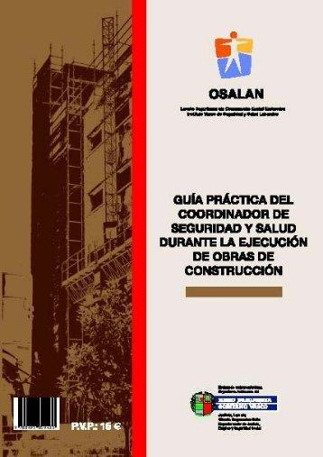 Guía práctica del coordinador de seguridad y salud durante la ...