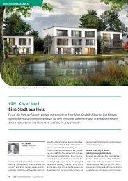 City of Wood - B&O - Lösungen für die Wohnungswirtschaft