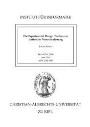 Die Experimental Design Toolbox zur optimalen Versuchsplanung