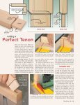 Top-notch Tenons - Woodsmith Woodworking Seminars - Page 3