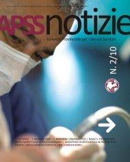 apss notizie, n. 2, anno 9 - Azienda Provinciale per i Servizi Sanitari