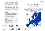 Mehr (Berufs-) Chancen durch Mobilität - CJD Eutin