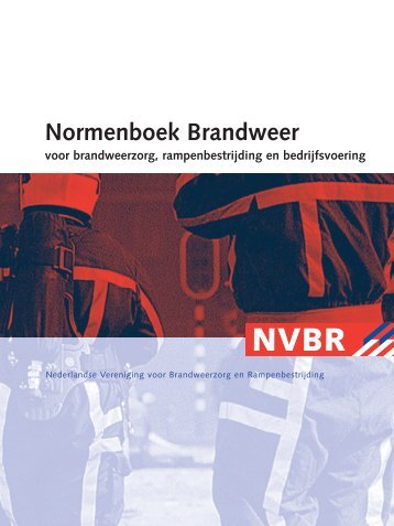Normenboek Brandweer - Brandweer Vereniging Vlaanderen