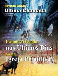 Agosto de 2012 - Revista Cristã Última Chamada.
