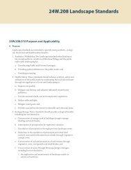 24W.208 Landscape Standards - Rangwala Associates