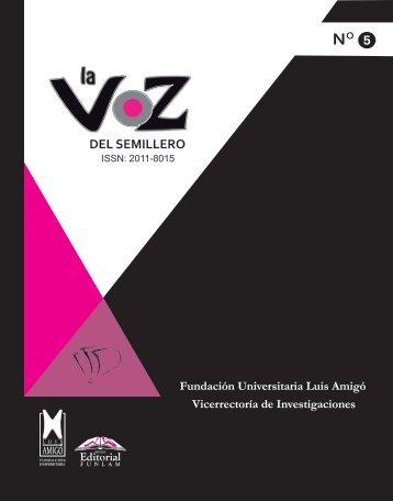La Voz del Semillero No. 5 - Fundación Universitaria Luis Amigó