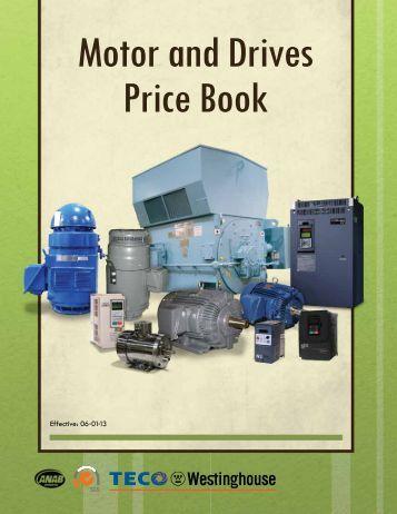 Pricebook - TECO-Westinghouse Motor Company