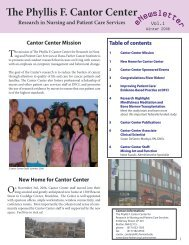 The Phyllis F. Cantor Center - Dana-Farber Cancer Institute