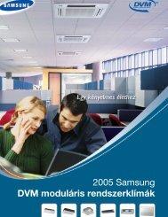 Samsung DVM moduláris rendszer - Klíma Miskolc