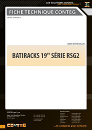 fiche technique conteg batiracks 19