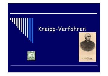 Kneipp-Verfahren - Realschule-Beilngries.de