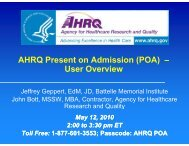 Download - AHRQ - Agency for Healthcare Research and Quality