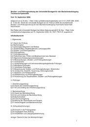 Rahmenprüfungsordnung der Universität Stuttgart für Bachelorstu
