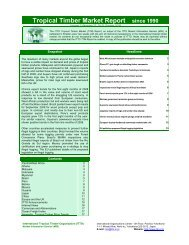 Tropical Timber Market Report since 1990