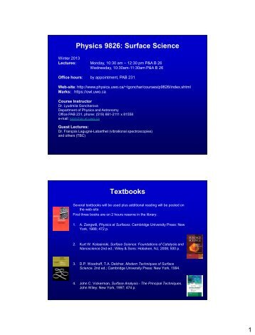 Introduction - Physics and Astronomy