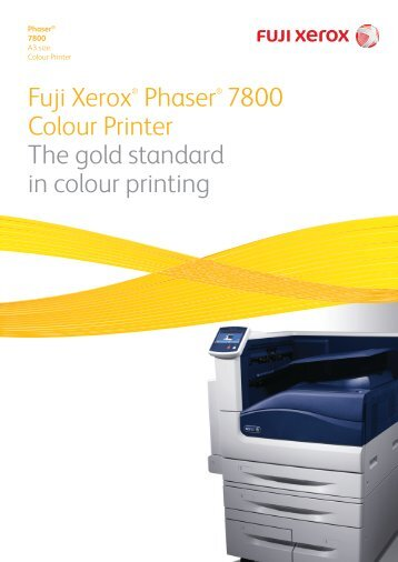 Fuji Xerox Phaser 7800 - Digital Graphic Supplies