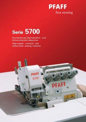 Serie 5700 - naehtechnik-nw.de