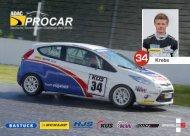 autograph card Thomas Krebs - ADAC Procar