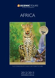 AFRICA - Scenic Tours