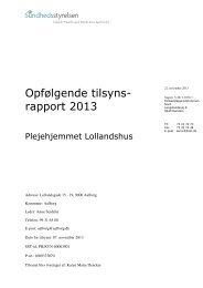 Lollandshus, plejeboliger - Aalborg Kommune