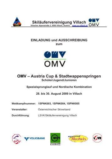 Skiläufervereinigung Villach OMV – Austria Cup ... - Stefan Kraft