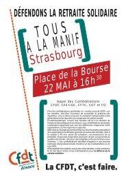 Strasbourg - Sgen-CFDT ALSACE