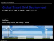 Global Smart Grid Deployment