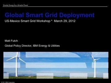 Global Smart Grid Deployment