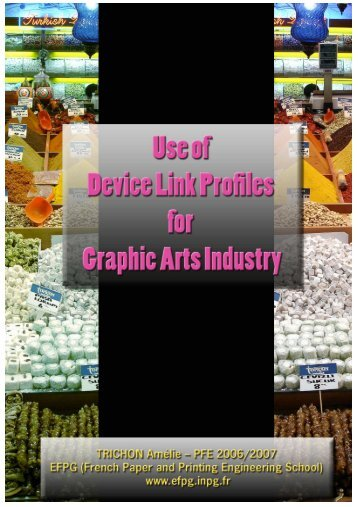 Use of DeviceLink Profiles for graphic industries ... - Impressed