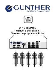 Annexe B Position des fusibles dans le DP15 - Günther ...