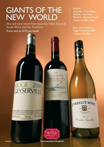 Giants_6pp leaflet_Nov12.indd - The Wine Society