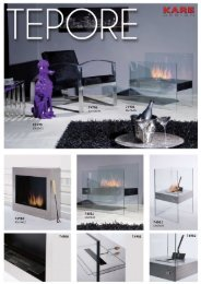 Stand Fireplace Tepore - instruction manual - KARE