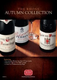 AUTUMN COLLECTION - The Wine Society