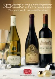 MEMBERS' FAVOURITES - The Wine Society