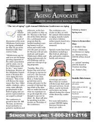 Aging Advocate Spring 2010 - Association of South Central ...