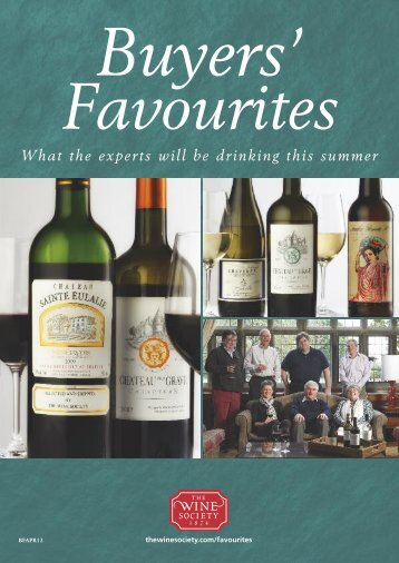 Buyers' Favourites - The Wine Society