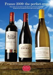 France 2009: the perfect crop - The Wine Society