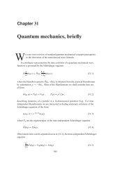 Chapter 31 - Quantum mechanics, briefly - ChaosBook