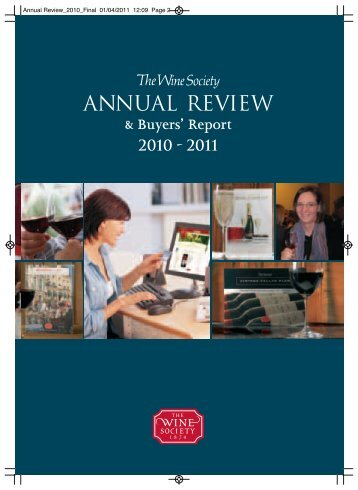 ANNUAL REVIEW - The Wine Society