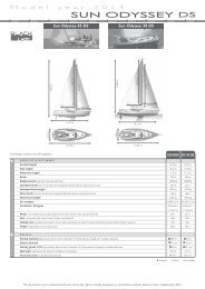 inventory - Euroyachts