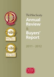 Annual Review Buyers' Report - The Wine Society